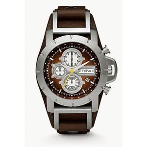 FOSSIL Jake Chronograph Brown Leather Watch